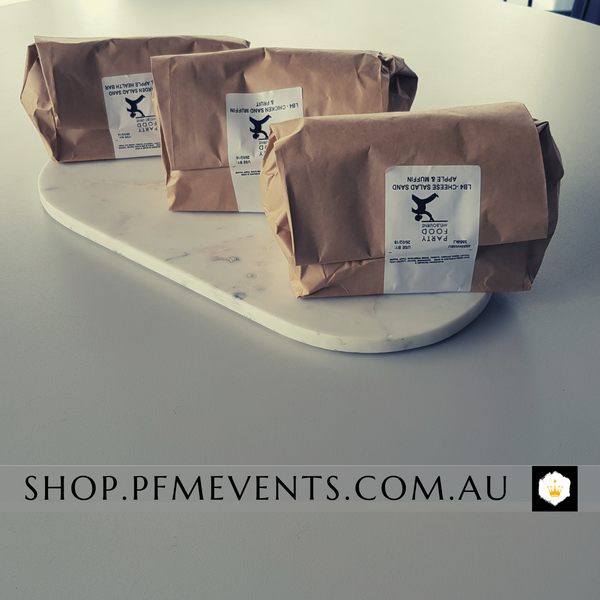 Premium Sandwich Lunch Bag Launch Event Melbourne Weddings