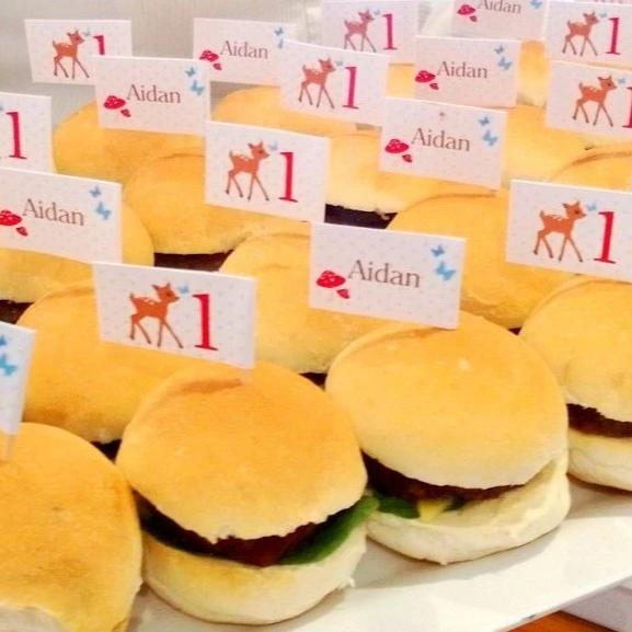 Mini Veggie Burger Slider Packages *Free sauce Launch Event Melbourne Weddings