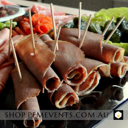 Charcuterie Deli Meats Platter (Lg) Launch Event Melbourne Weddings