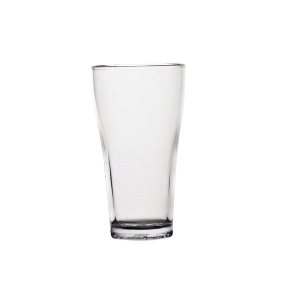 Polycarbonate 285ml Conical Beer Glass Hire (Replacement cost $6) Launch Event Melbourne Weddings