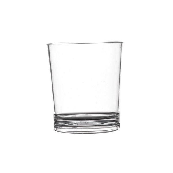 Polycarbonate 230ml Whiskey Tumbler/Water Glass Hire (Replacement cost $5) Launch Event Melbourne Weddings