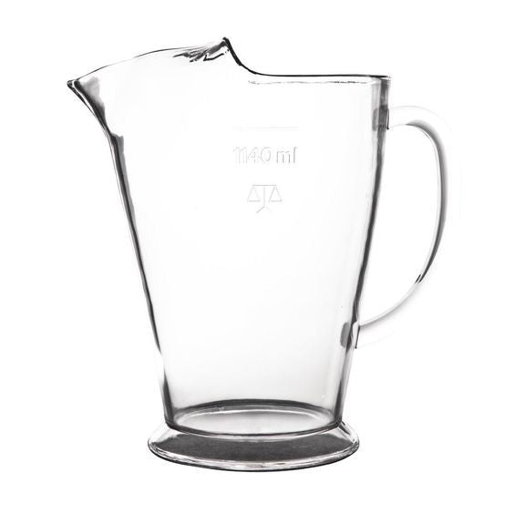 Polycarbonate 1140ml Beer/Water Jug Hire (Replacement cost $18) Launch Event Melbourne Weddings