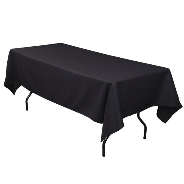 Trestle Tablecloth Hire - Black Launch Event Melbourne Weddings