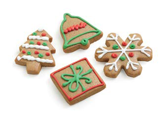 Christmas Entertainer's Gingerbread Shape Cookies Launch Event Melbourne Weddings