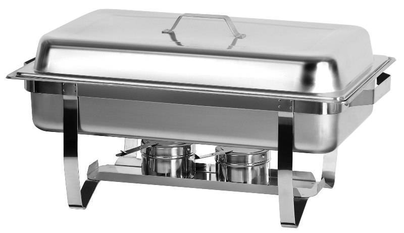 Chafing Dish Hire - Single Tray