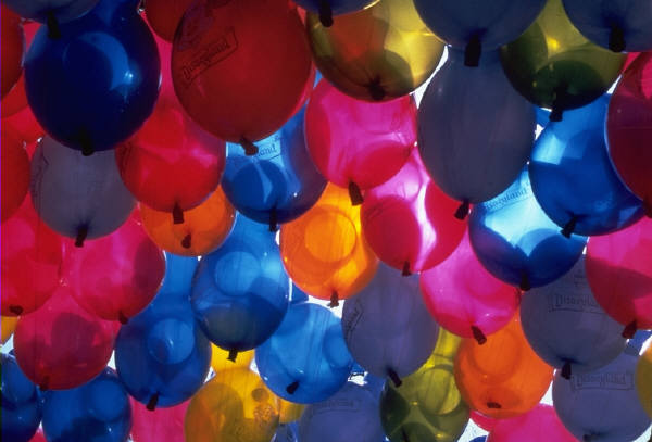Loose, Plain Helium Inflated Balloons Launch Event Melbourne Weddings