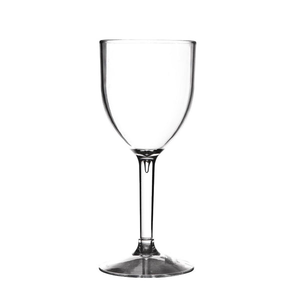 Polycarbonate 190ml Wine Glass Hire (Replacement cost $5) Launch Event Melbourne Weddings