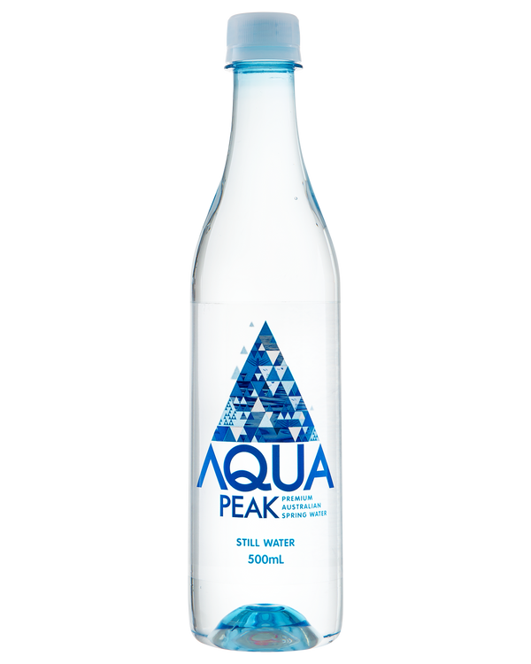 Aqua Peak still water - 500ml Launch Event Melbourne Weddings