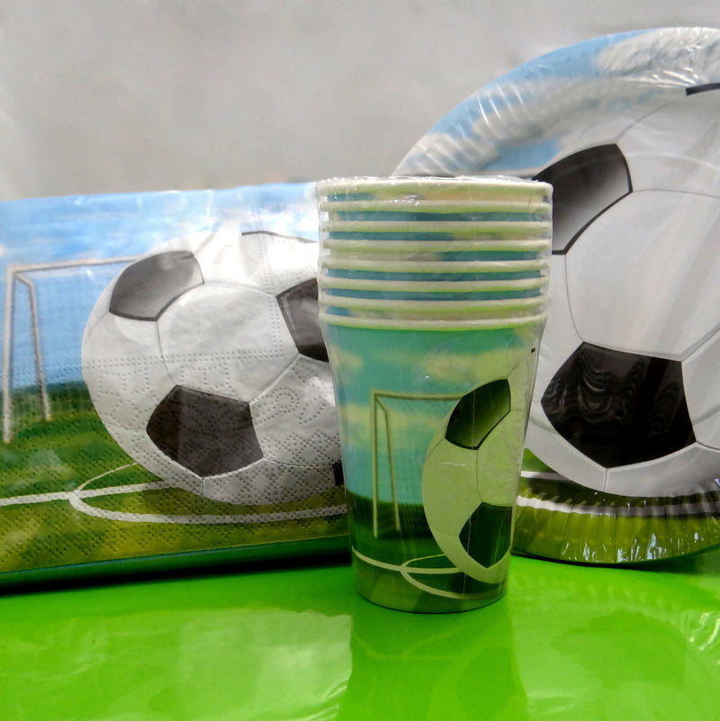 Soccer Party Tableware Set Launch Event Melbourne Weddings