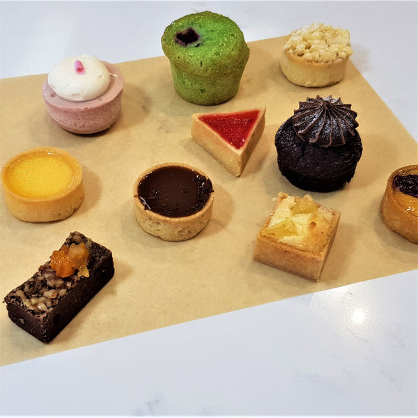 30 Mini Petit Fours Platter Launch Event Melbourne Weddings