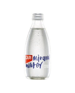 Capi Still Mineral Water - 250ml Launch Event Melbourne Weddings