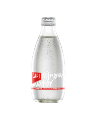 Capi Sparkling Mineral Water - 250ml Launch Event Melbourne Weddings
