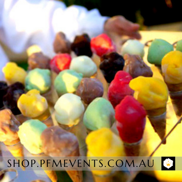 Gelato Cones - Minis - 24 Launch Event Melbourne Weddings