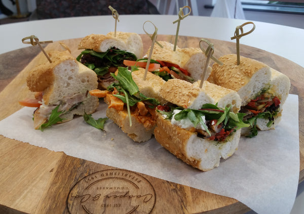 Baguettes Catering Platter Launch Event Melbourne Weddings