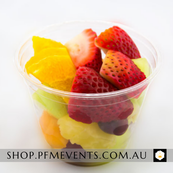 Fruit Salad Cup - per 6 (vg) Launch Event Melbourne Weddings