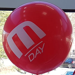 Giant 90cm Custom Printed Balloons Launch Event Melbourne Weddings