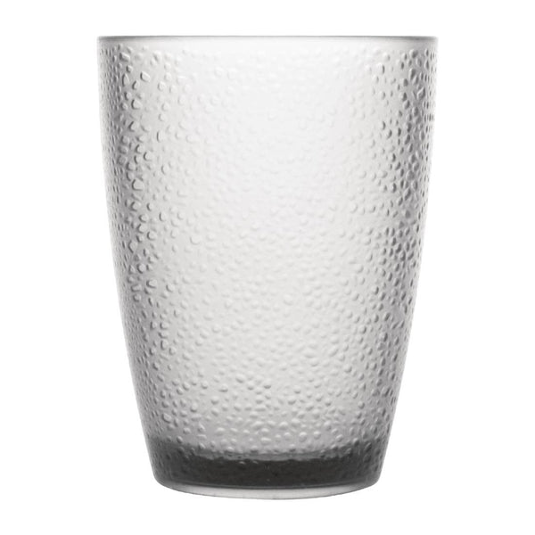 Polycarbonate 275ml Frosted Glass Hire (Replacement cost $7) Launch Event Melbourne Weddings