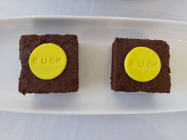 R U OK Day Brownies Launch Event Melbourne Weddings