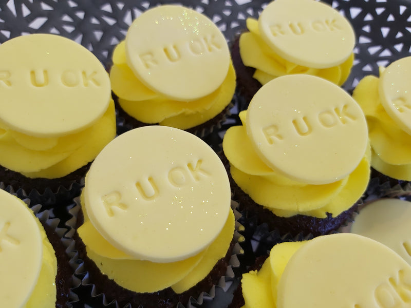 R U OK Day Mini Cupcakes Launch Event Melbourne Weddings