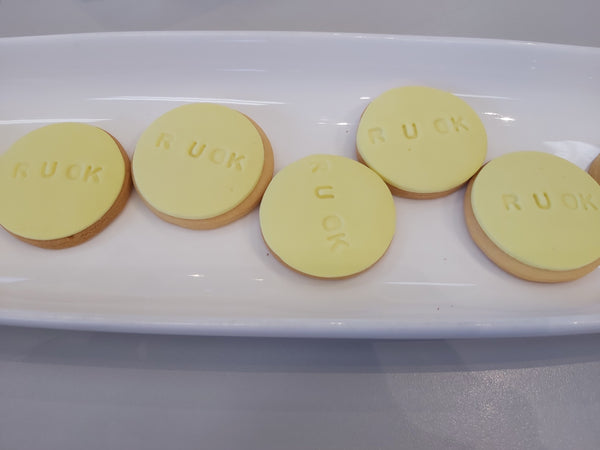 R U OK Day Biscuit Bulk Order Launch Event Melbourne Weddings