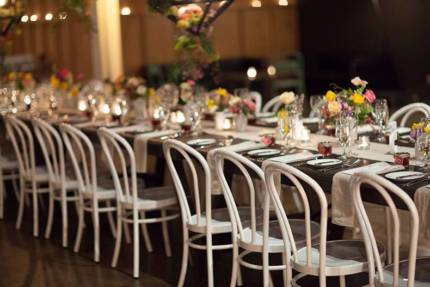 White Bentwood Chair Hire Launch Event Melbourne Weddings