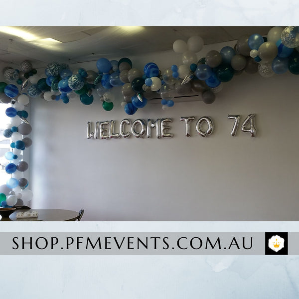 Modern Organic Balloon Arch Launch Event Melbourne Weddings