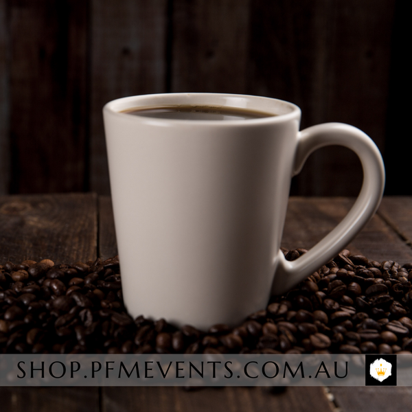 Premium Percolated Coffee Station Package PP Add-On Launch Event Melbourne Weddings