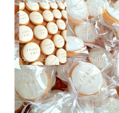 Custom Biscuit Gift Bomboniere (Med) Launch Event Melbourne Weddings