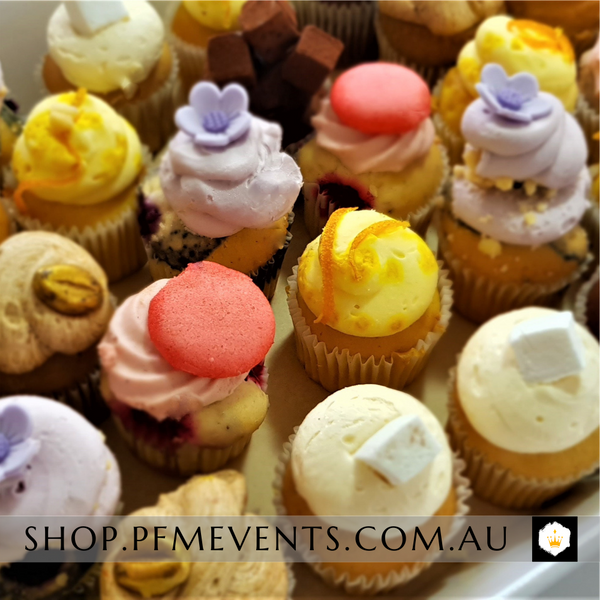 Fancy Little Cupcakes Platter Launch Event Melbourne Weddings