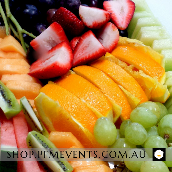 Fresh Fruit Platter (vg, df, ef) Launch Event Melbourne Weddings