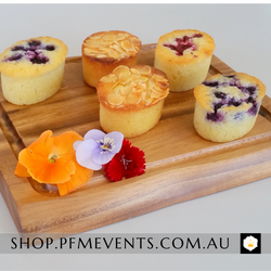 Friands - per 6 Launch Event Melbourne Weddings