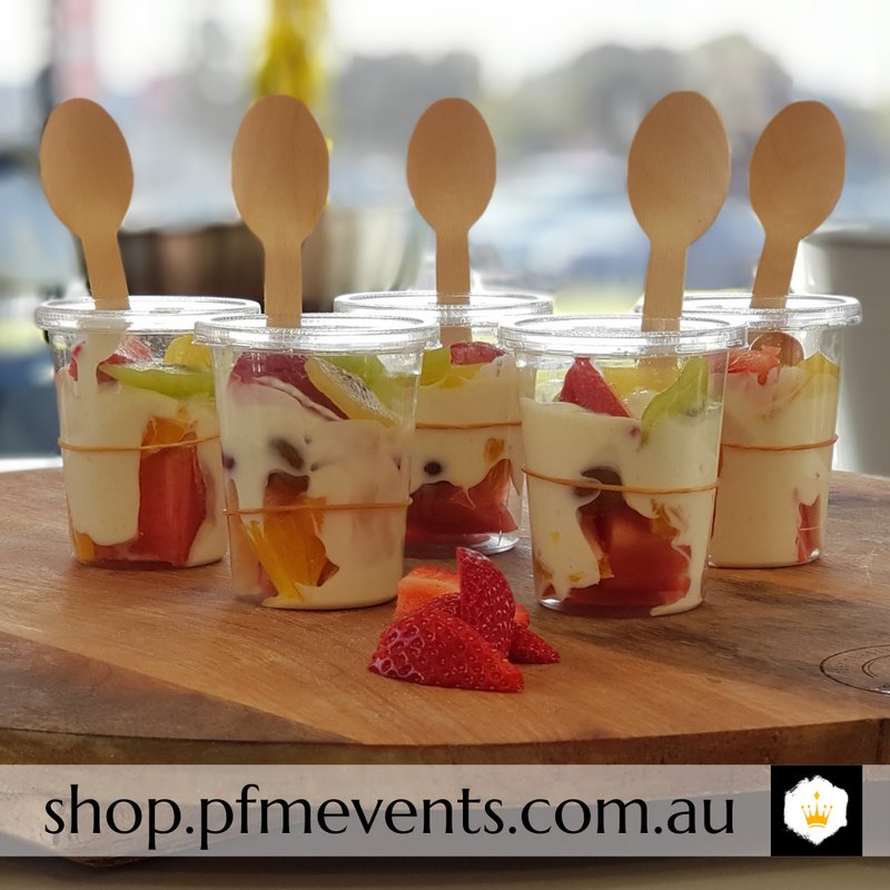 Fruit & Yoghurt Cups Launch Event Melbourne Weddings