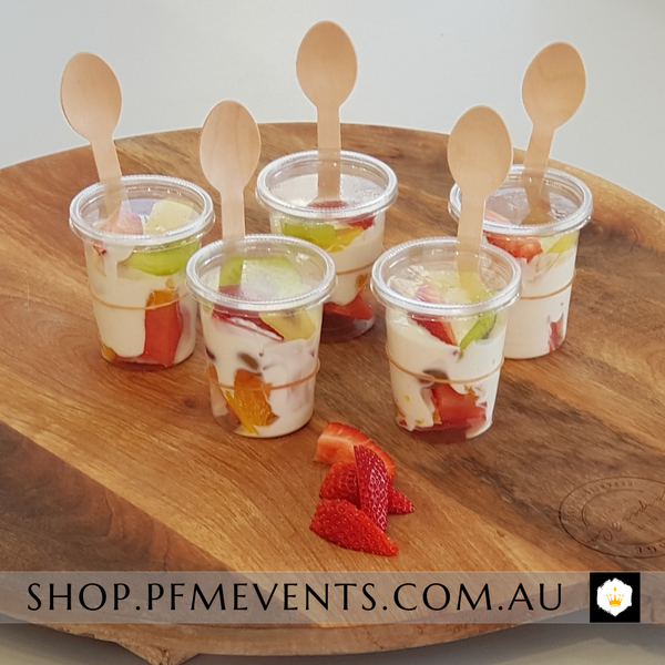 Fruit and Yoghurt Cup - per 6 Launch Event Melbourne Weddings