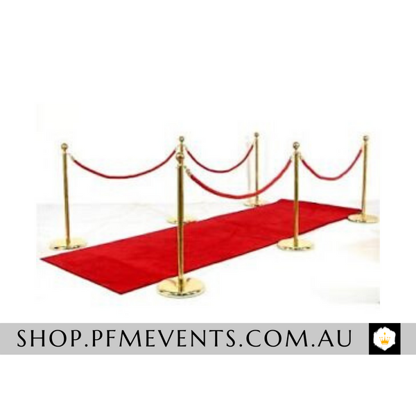 Gold Bollards Hire Packages Launch Event Melbourne Weddings
