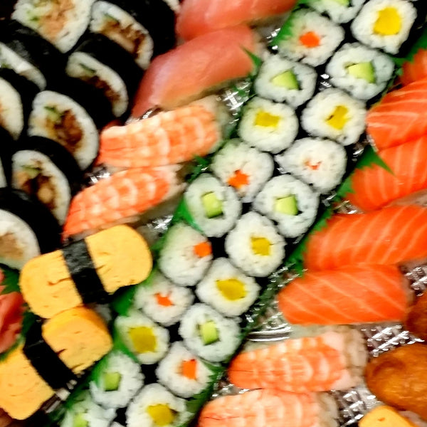 Large Gourmet Sushi & Sashimi Platter Launch Event Melbourne Weddings