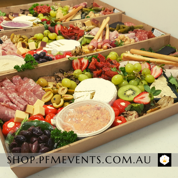 Gourmet Grazing Platter - Half Metre Launch Event Melbourne Weddings