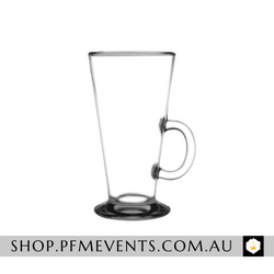 Latte/Liqueur Coffee Glass - Hire Launch Event Melbourne Weddings