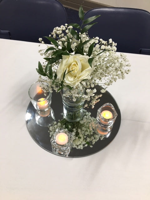 Floral & Foliage Table Centrepiece Launch Event Melbourne Weddings