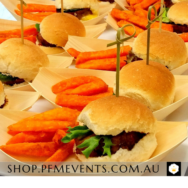 Mini Beef Burger Slder Packages *Free sauce Launch Event Melbourne Weddings