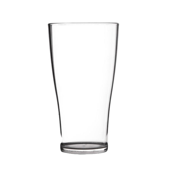 Polycarbonate 425ml Conical Beer Glass Hire (Replacement cost $6) Launch Event Melbourne Weddings