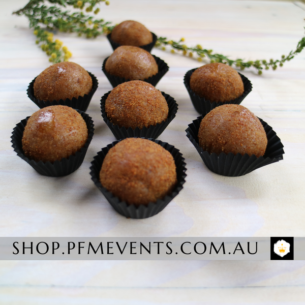 Mixed Berry and Cashew Protein Balls (vg, df) Launch Event Melbourne Weddings