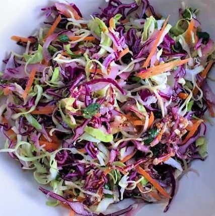 Individual Rainbow Coleslaw Launch Event Melbourne Weddings
