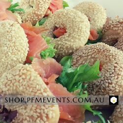 Mini Rolls with a Hole Catering Platter - Assorted Fillings Launch Event Melbourne Weddings