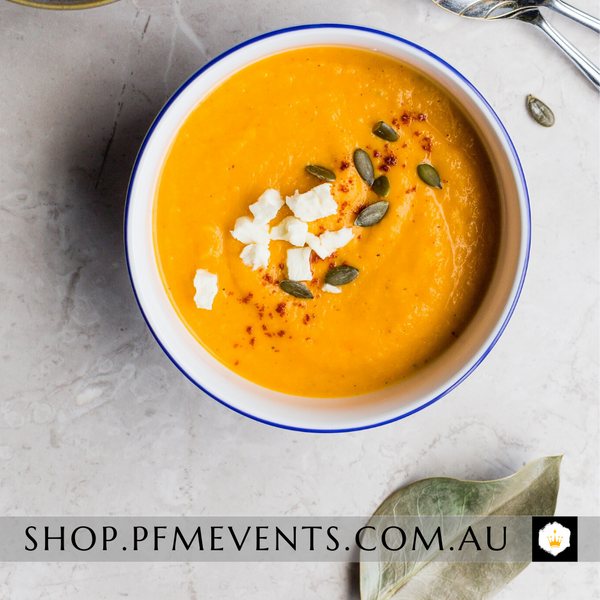 Soup of The Day (v or vg choices) Launch Event Melbourne Weddings