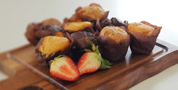 Assorted Sweet Mini Muffins Platter Launch Event Melbourne Weddings
