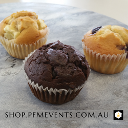 Individually Wrapped Muffin Launch Event Melbourne Weddings