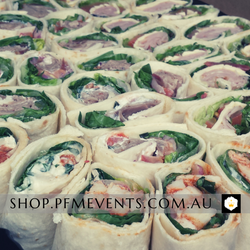 Tortilla Pinwheels Catering Platter Launch Event Melbourne Weddings