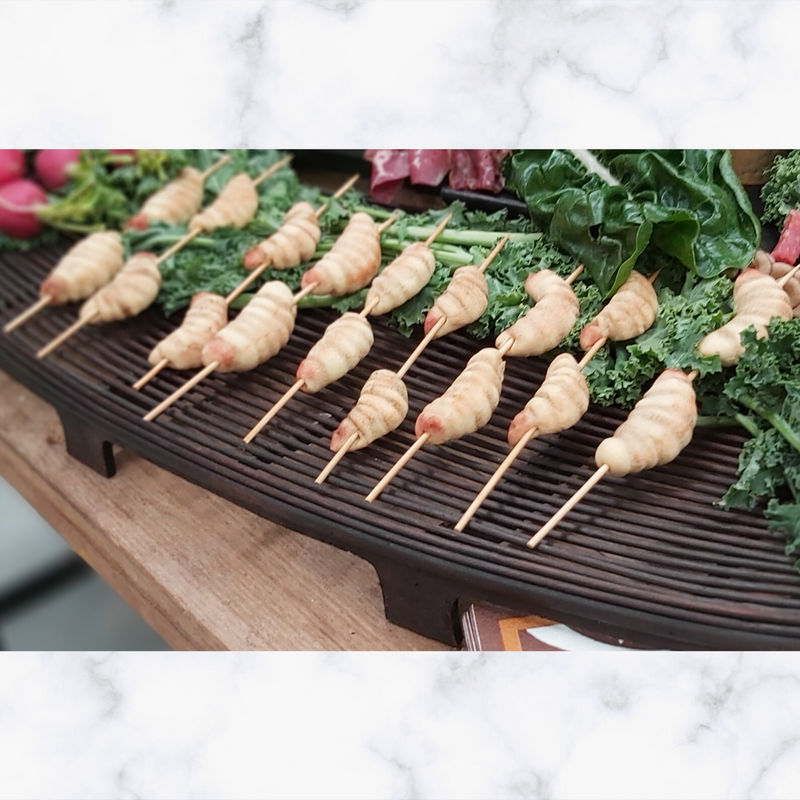 "Witchety Grub ""BBQ"" Biscuits Launch Event Melbourne Weddings"