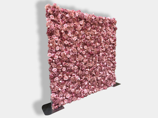 Blush Flower Wall (Hire)