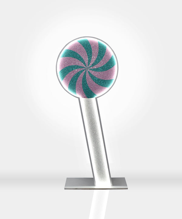 6ft Glitter Light Up Lollipop (Hire)